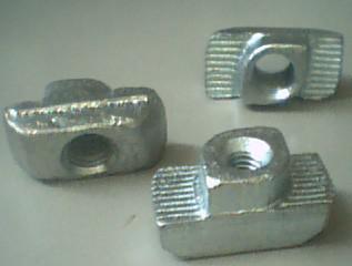 Porca perfil aluminio